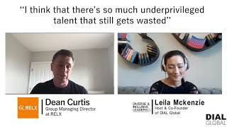 Diverse & Inclusive Leaders #80 - Dean Curtis, Group Managing Director at RELX (Preview)