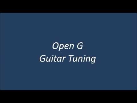 Open G Guitar Tuning ( D-G-D-G-B-D )