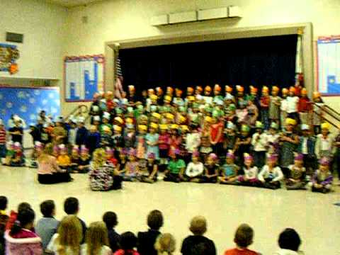 ADAM and the RIO VISTA ELEMENTARY FIRST GRADE singing - YouTube