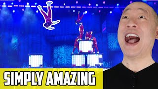 V Unbeatable - AGT Final Performance Reaction | Dance? Oh No! That's FLYING On America's Got Talent!