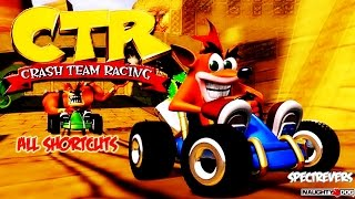ctr crash team racing all shortcuts