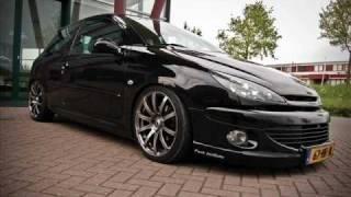 Peugeot 206 Tuning - Ludacris How low