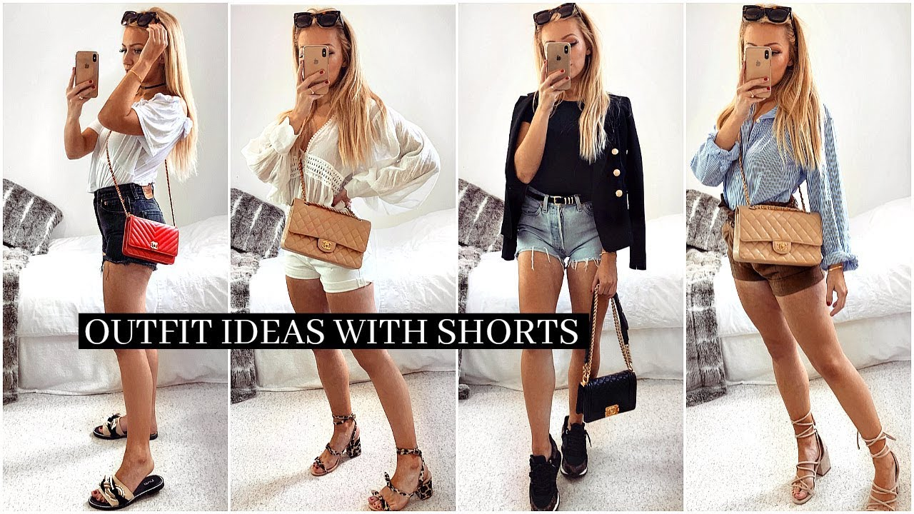 SUMMER OUTFIT IDEAS WITH SHORTS! / LOOKBOOK 2019