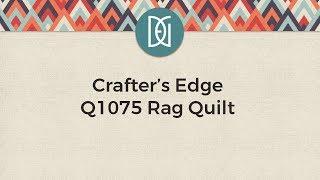 Q1075 RAG QUILT