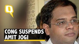 Chhattisgarh Tapes: Congress MLA Amit Jogi Suspended for 6 Years