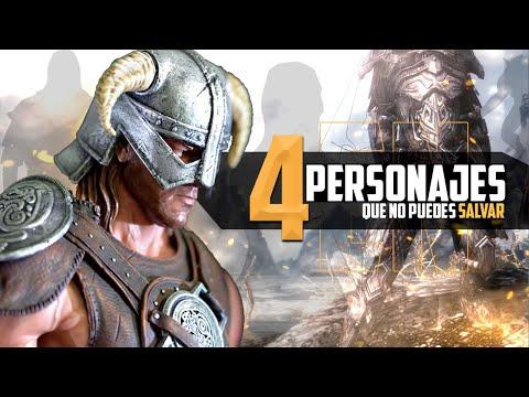 SKYRIM 4 Personajes Que No Puedes Salvar thumbnail