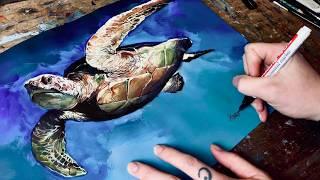 ASP: Meeresschildkröten-Special zu Kosmonautilus mit Timo Wuerz (Painting)
