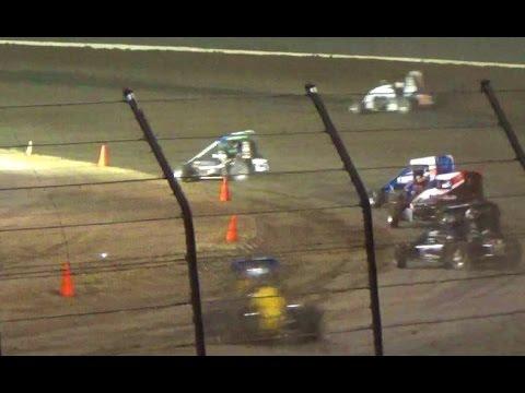 MIDGET CAR Main // Louie Vermeil Classic - Calistoga Speedway 2016