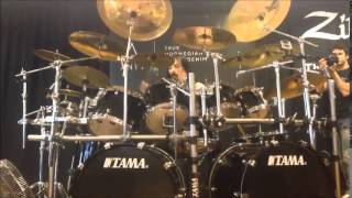 "Drum clinic with Frost ( performing ""the infinity of time and space"" )"