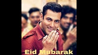 Eid Mubarak With Salman Khan Eid whatsapp Statussn