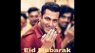 Eid Mubarak With Salman Khan Eid whatsapp Statussn