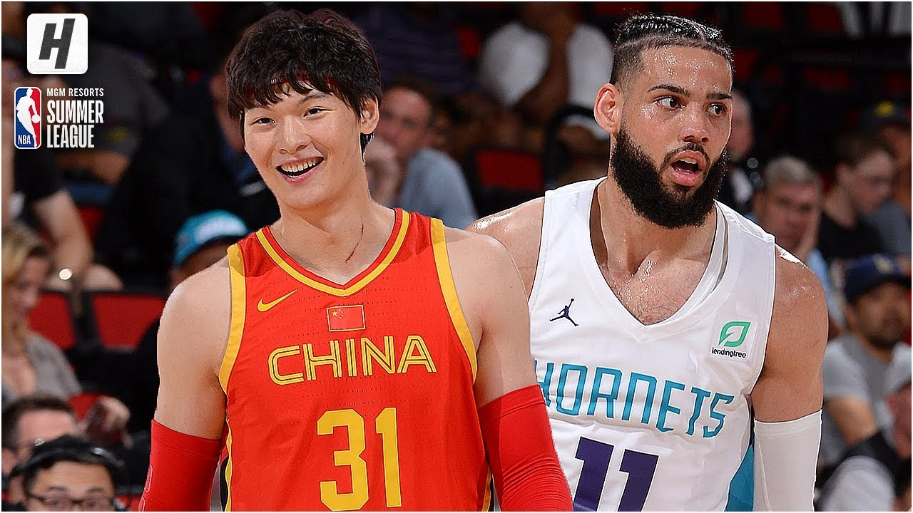 timeless design 82797 78cf6 Team China downs Charlotte Hornets 84-80, gets second win ...
