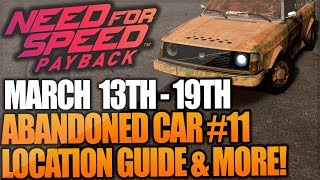 Need For Speed Payback Abandoned Car #11 - Location Guide + Gameplay - VOLVO 242DL NFS Payback!