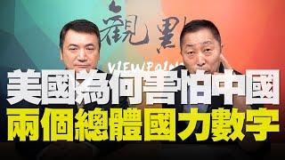 '20.08.11【觀點│全球派對】美國為何害怕中國兩個總體國力數字