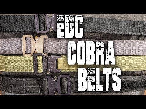 EDC Cobra Belts / Channel Updates / My FAVORITE BELTS!