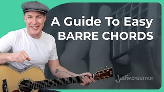 Fail-Proof Guide To Eąsy Barre Chords on Guitar
