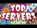Top 3 agar.io private servers!