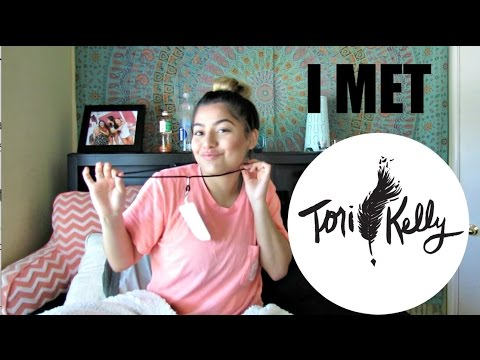 I MET TORI KELLY!