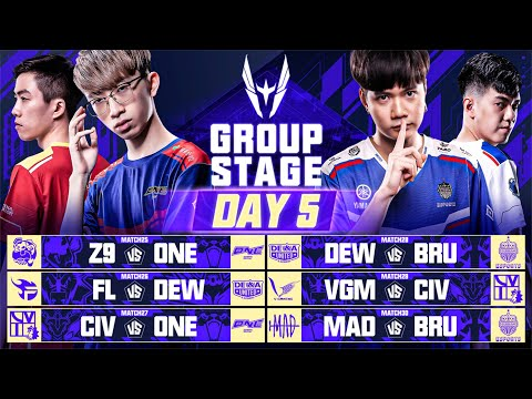AWC 2021   Group Stage   Day 5