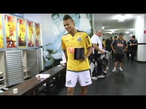 Neymar dança ai se eu te pego, ai ai se eu te pego Santos Futebol Clube  Site Oficial
