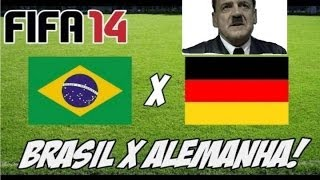 Hitler assiste os 7 gols da Alemanha sobre o Brasil