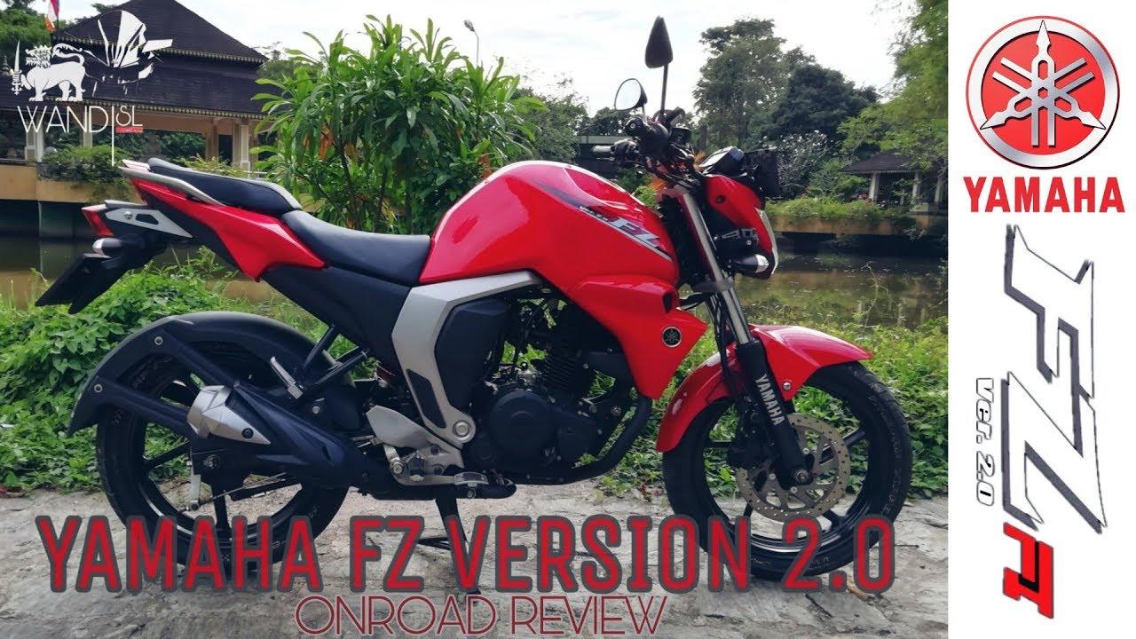 Yamaha Fz Version 20 Review Sri Lanka видео онлайн