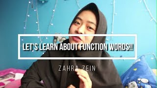 Learning Function Words in 4 Minutes