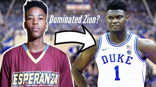 KZ Okpala Once Balled Up Zion Williamson Where is he now