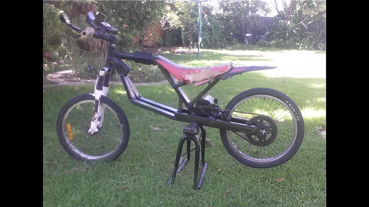 Diy 48v 1500w Mid Drive E Bike Fast Youtube