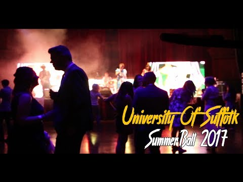 University Of Suffolk - Summer Ball 2017 [PROMO]