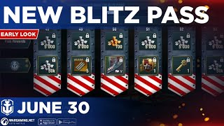 World of Warships Blitz: Early Look at New Blitz Pass and Early Access For Italian Cruiser's