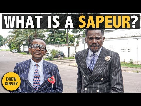 What is a SAPEUR? (Brazzaville, Congo)