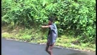 KERALA POLICE  SUPER  FIGHT AT ROAD ,,,,, ANZY  SASTHAMCOTTA ......,