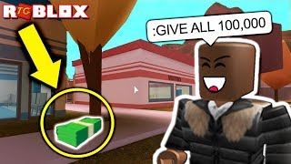 SPAWNING JAILBREAK MONEY WITH ADMIN COMMANDS (ROBLOX)