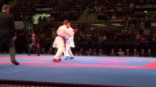 Omar ABDEL RAHMAN vs Stanislav HORUNA. 2014 World Karate Championships.