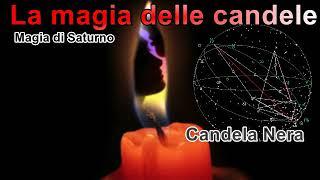 Magia con le candele Saturno candela Nera cose ferme situazioni bloccate