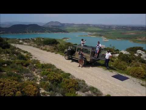 Drone opname Jeep Safari Andalusie