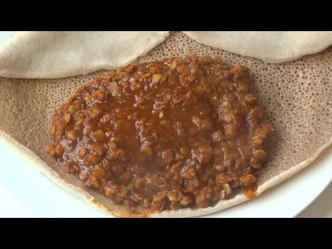 SIMPLE Ethiopian Food: Misir Wot - Lentil Stew (BEST)