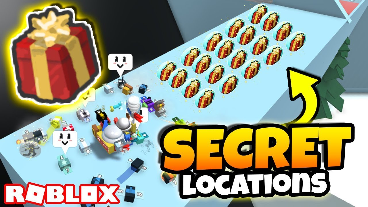 Hide Hideout Simulator Roblox All New Secret Gifted Present Locations Roblox Bee Swarm Simulator Youtube