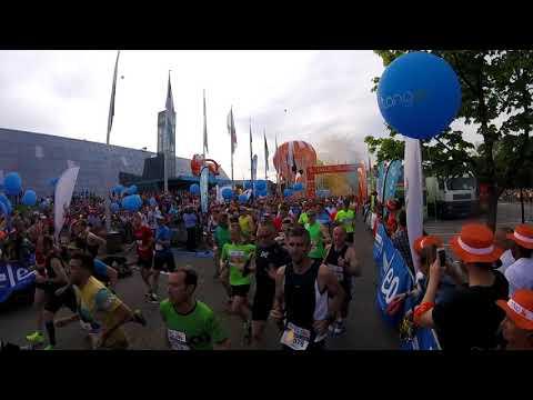 départ de l'ING marathon Luxembourg 2018