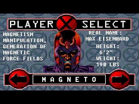 X-Men: Reign Of Apocalypse - Magneto Playthrough