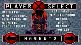 X-Men: Reign Of Apocalypse - Magneto Playthrough