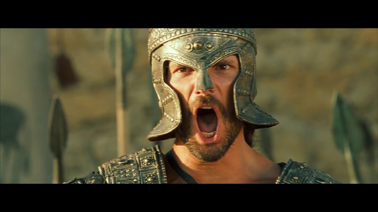 Troy 2004 Battle Cry Movieclips Youtube