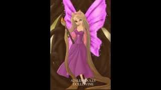 Disney Princess as Fairies