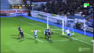 Video Gol Pertandingan Ponferradina vs Lugo