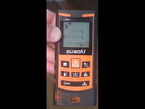 Suaoki s ft portable laser digital distance measure Самые
