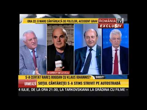 Dialog Traian Băsescu - Dumitru Dragomir la România TV 7 iulie 2019