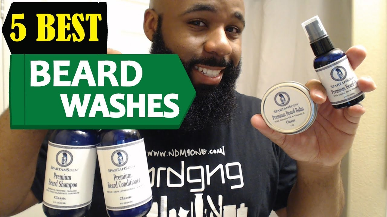 5 Best Beard Washes 2018 | Best Beard Washes Reviews | Top 5 Beard Washes