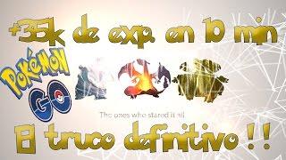 +35.000EXP en 10MIN!! | COMO SUBIR de NIVEL en Pokemon Go [WithZack]