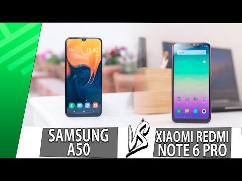 Samsung A50 VS Xiaomi Redmi Note 6 Pro | Enfrentamiento | Top Pulso